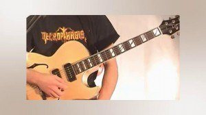 Online Guitar Lessons - Rhythm Changes - The Chords