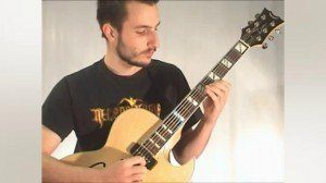 Online Guitar Lessons - Rhythm Changes - Solo