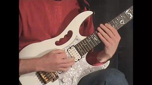 Online Guitar Lessons - E-Minor 3 string Exercise
