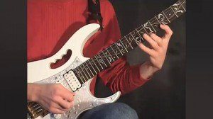 Online Guitar Lessons - Playing Legato - Exercise 1