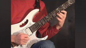 Online Guitar Lessons - Playing Legato - Exercise 4