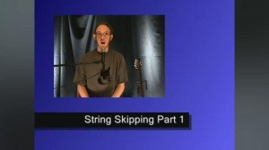 Online Guitar Lessons - String Skipping - Pentatonic Ideas