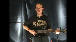 Online Guitar Lessons - Sweep Picking: 3 strings (Minor)