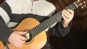 Online Guitar Lessons - Francisco Tarrega - Study in E min...