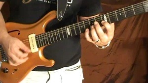Online Guitar Lessons - Pedal Note Arpeggio Study - Part 1