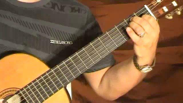 Classical Guitar Solo: Romanza - Part 2