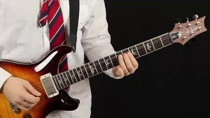 Online Guitar Lessons - In the Style of AC/DC: Thunder fro...