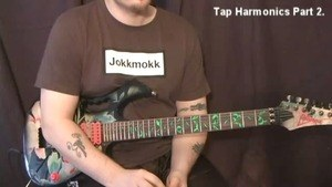 Online Guitar Lessons - Tap Harmonics - Part 2