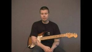 Online Guitar Lessons - Muting Techniques - Example 6a