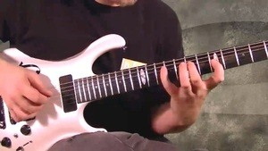 Online Guitar Lessons - Hybrid Picking Sequences - Example...