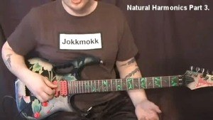 Online Guitar Lessons - Natural Harmonics - Part 3