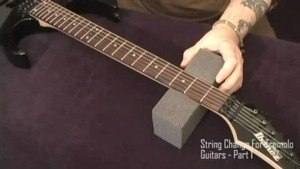 Online Guitar Lessons - Tremolo String Change - Part 1