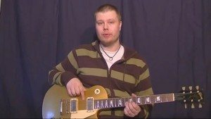 Online Guitar Lessons - Vibrato 101: Part 3 - The Push/Pul...
