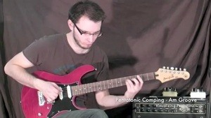 Online Guitar Lessons - Visualizing Pentatonics - Am Groov...
