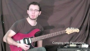 Online Guitar Lessons - Visualizing Pentatonics - Comping ...