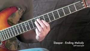 Online Guitar Lessons - Fusion Song - Sleeper - Ending Mel...