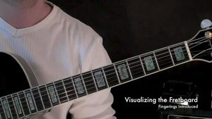 Online Guitar Lessons - Visualizing the Fretboard - Learni...