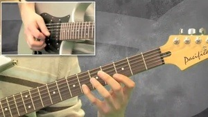 Online Guitar Lessons - Funky Fusion Song - Riff Section