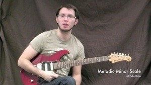 Online Guitar Lessons - Melodic Minor Scales - Introductio...