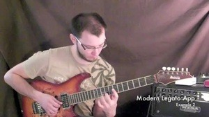 Online Guitar Lessons - Modern Legato Application - Exerci...