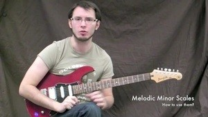 Online Guitar Lessons - Melodic Minor Scales - How do we u...