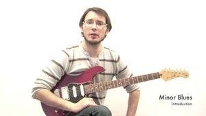 Online Guitar Lessons - Minor Blues - Introduction