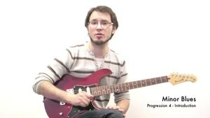 Online Guitar Lessons - Minor Blues - Progression 4