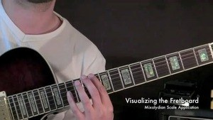Online Guitar Lessons - Visualizing the Fretboard - Mixoly...