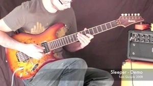 Online Guitar Lessons - Fusion Song - Sleeper (Full Song)