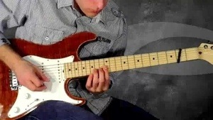 Online Guitar Lessons - The 'Howe' Vibrato - Example 1