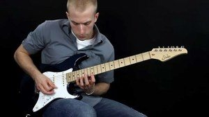 Online Guitar Lessons - Sweep Picking as a Tool - Example ...