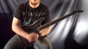 Online Guitar Lessons - Drilling Drop D - Scales
