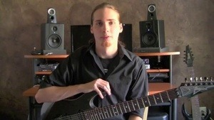 Online Guitar Lessons - Intro to Sweep Picking - Intro & E...
