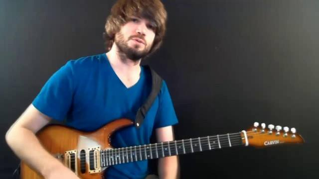 Licks in the Style of Guthrie Govan: Lick 3