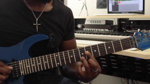 Guitar Lessons - Quartal Triad Comping - 2nd Inversion