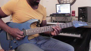 Guitar Lessons - Mixolydian Ear Training - Major 9ths Phrase