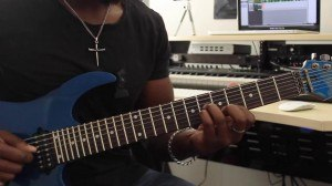Guitar Lessons - Quartal Triad Comping - Root Position